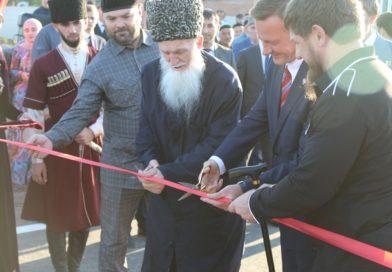 Фоторепортаж: Открытие моста в с. Янди