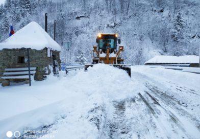 Снегоуборочные работы продолжаются