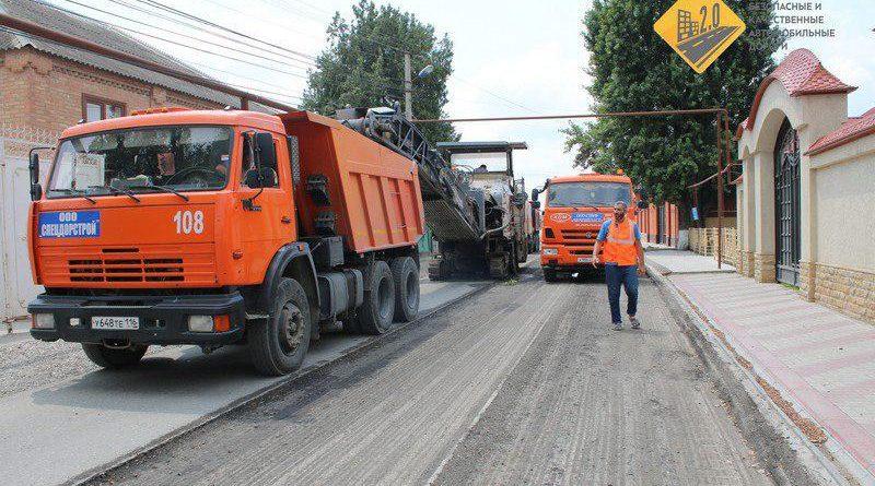 Ремонтные работы развернулись на улице К. Ворошилова города Аргуна