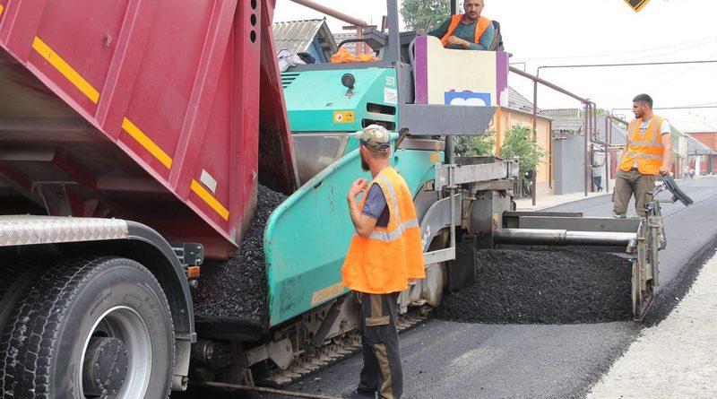 Комплексный ремонт на улицах Аргуна в рамках нацпроекта