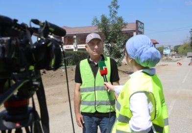 Комиссионный выезд на объекты нацпроекта «Безопасные и качественные автомобильные дороги» в Грозном