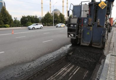 На проспекте имени Х. Исаева в Грозном начаты ремонтные работы