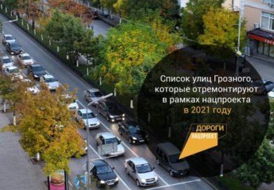 Объекты, которые отремонтируют в Грозном в 2021 году