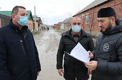 Инспекция мэра Аргуна на объекты дорожного нацпроекта