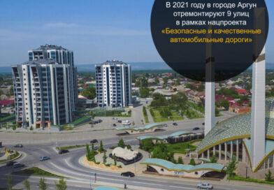 Улицы Аргуна, вошедшие в программу 2021 года дорожного нацпроекта