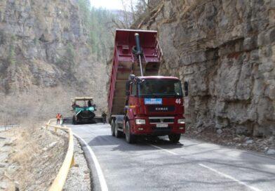 На  а/д Шатой – Шаро — Аргун – Химой    идут ремонтные работы