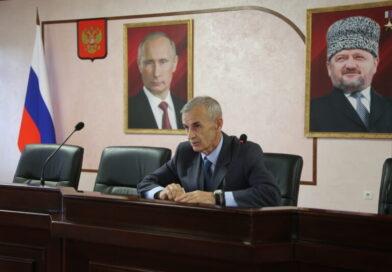 В Минавтодоре ЧР прошло мероприятие ко Дню России