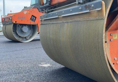 В Грозном в рамках нацпроекта ремонтируют улицу Поняткова