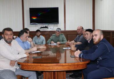 В мэрии Аргуна обсудили ход работ на объектах дорожного нацпроекта
